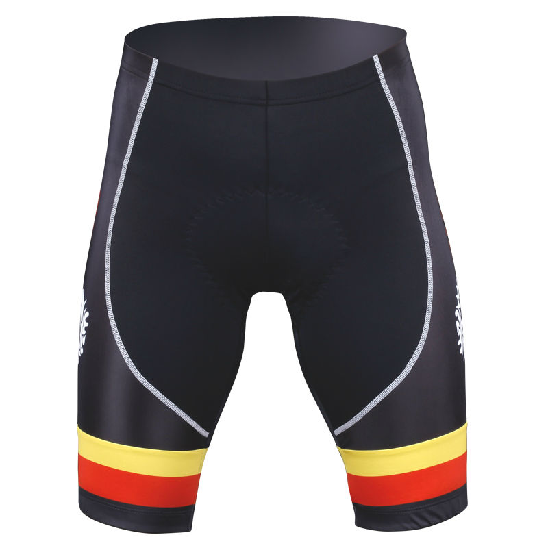 2016 custom made sublimation wholesale printed Summer Bicycle Shorts