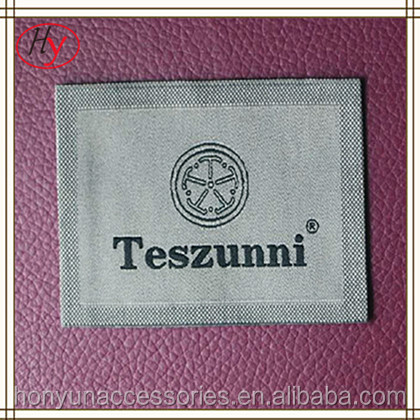 accessory wholesale good quality jeans label and tag designs