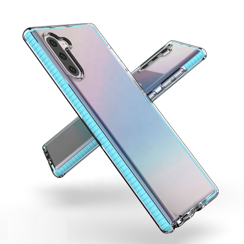 Wholesale Shockproof Clear TPU Cell Phone Case For Samsung Galaxy Note 10