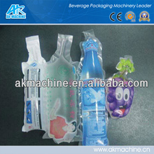 200ml bottle shape plastic bag filling and sealing machine for grape juice
