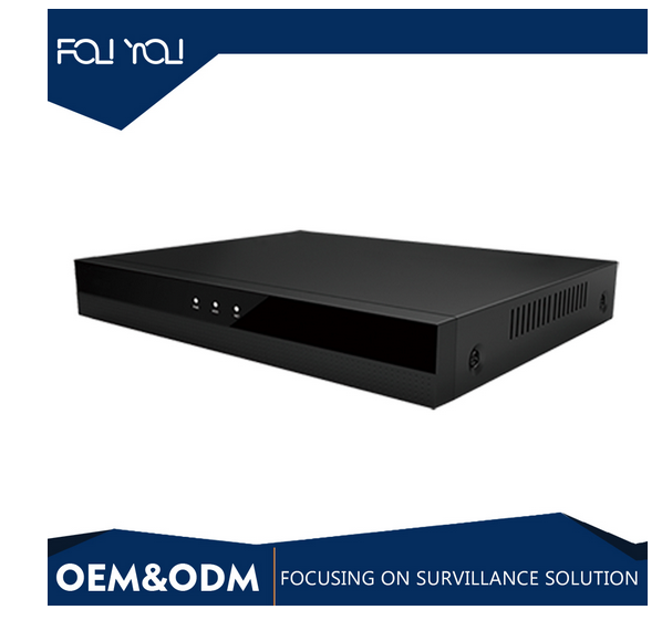 Conditional access and data broadcast supported monitoring function size 258*42*190mm wireless 64ch nvr 8ch