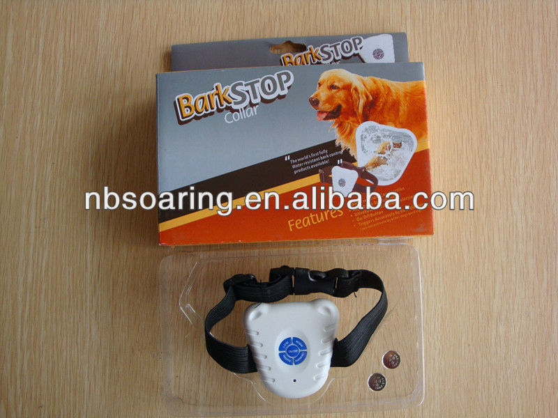 Ultrasonic Dog Bark Stop Trainer Bark Control Training Collar/Ultrasonic Bark Stop Collar