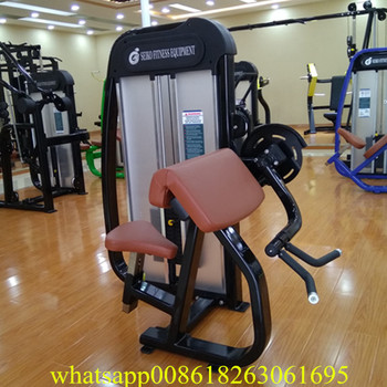 biceps curl equipment gym use cybex fitness equipment