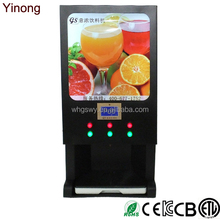 Yinong super professional fruit juice maker coffee milk tea vending machine