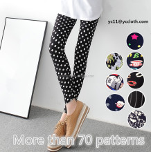 wholesale more than 70 different patterns sexy spandex cotton leggings for women