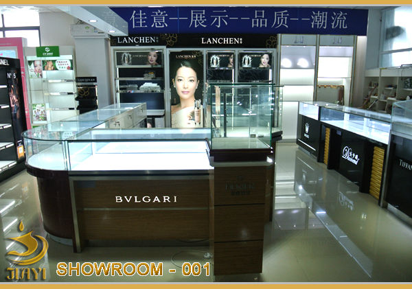 High end design for perfume shop, perfume display and perfume shop interior design