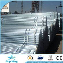 BS1387 pre galvanized steel pipe China manufacturer supply 1.5 inch galvanized steel pipe