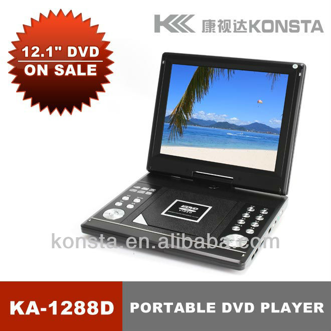 cheap portable DVD player with USB game SD VCD CD MP3 support