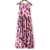 Fashion comfortable sleeveless floral printing summer ladies dress