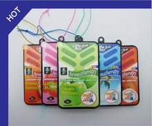 Customize Logo Hanging Solid Plastic Box Air Freshener