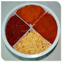 sweet paprika crushed with seeds