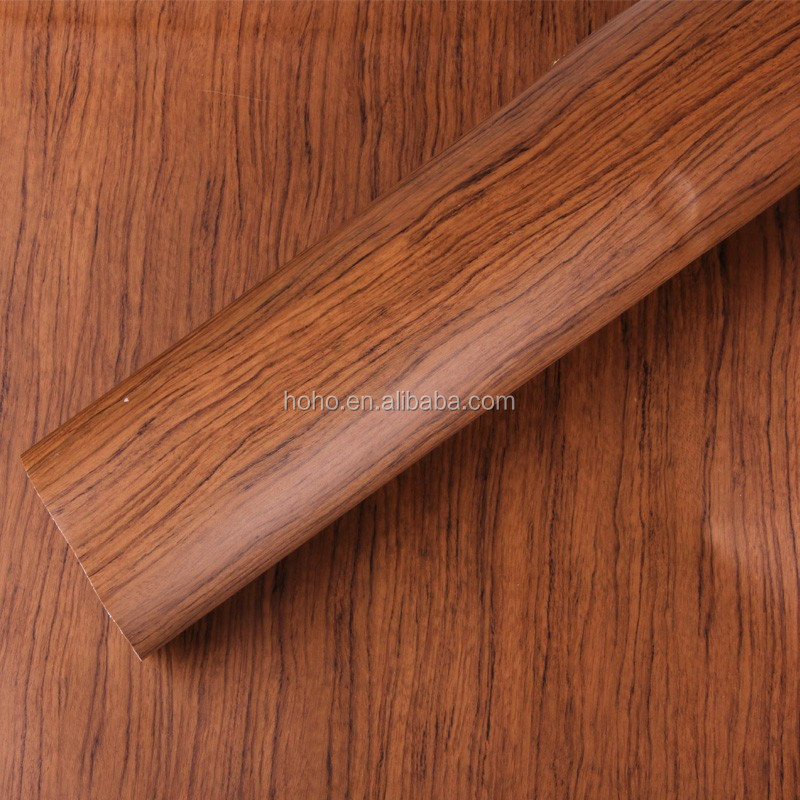 the horizontal wood grain melamine paper/horizontal pattern furniture paper