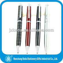 Promotional twist mechanism pen with engraved logo