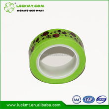 Janpanese Decoration Colorful Green Paper Tape for Handmade Work