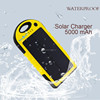 5000 mAh mobile solar charger for phone waterproof solar charger for camping from china supplier