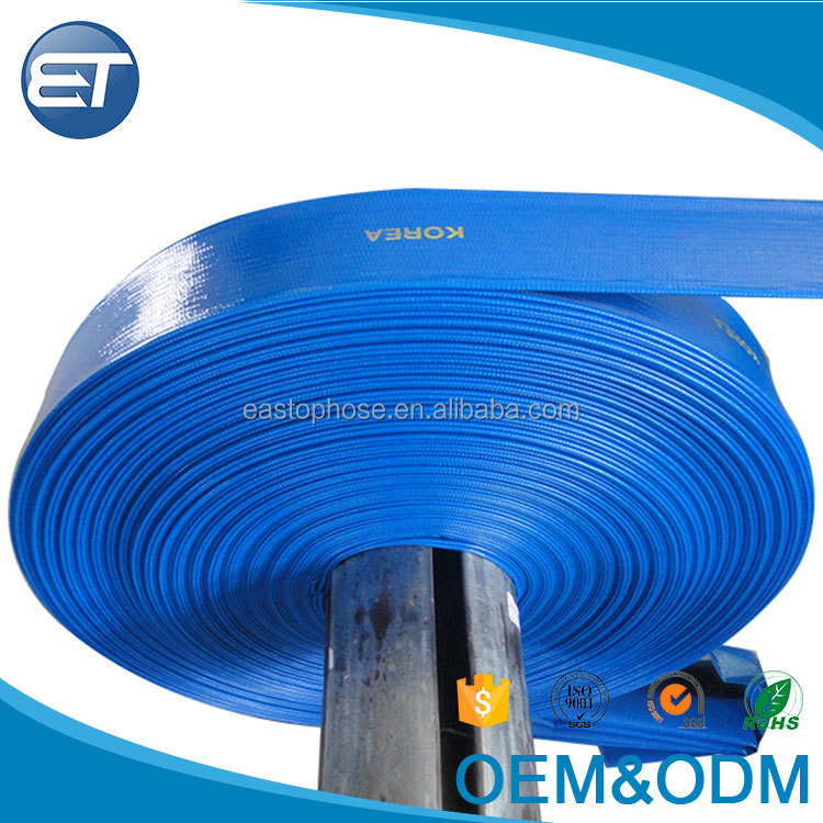 EASTOPS HOSE Canvas PVC Layflat Flexible Hose For Drip Irrigation with Reasonabe Price Sale