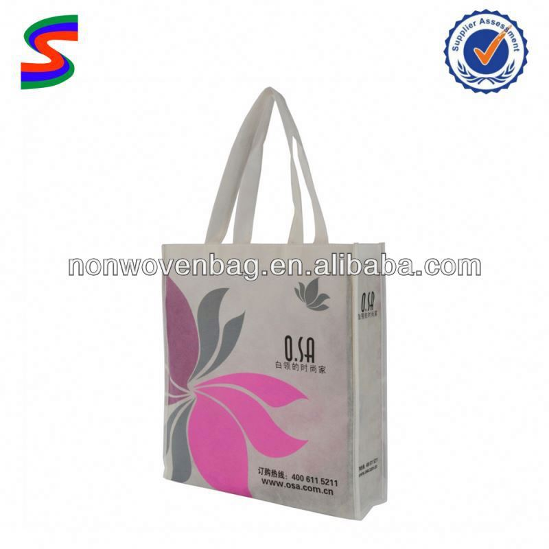 NB15518 Feather Dress New Design Nonwoven Bag
