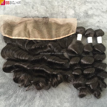 HOT Selling Cuticles Aligned Virgin Human Hair Indian Sex And Long Hair