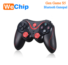 Original Gen Game S5 Wireless Bluetooth Gamepad Joystick for Android Smartphone Tablet PC Remote Controller Black Joystick stock