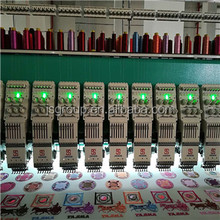 2018 hot selling 624 24 heads high speed flat computerized embroidery machine in pakistan