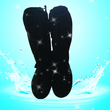 New design PVC material anti slip shoe cover reusable overshoes rain boots