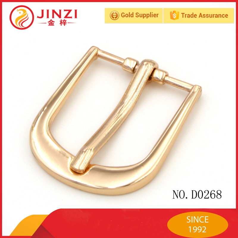 Jinzi Metal handbag roller pin buckle, metal strap bag clip buckle, clip belt buckles