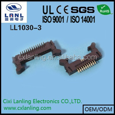 2.0mm shrouded header connector 6 8 <strong>10</strong> 12 14 16 18 20 24 30 34 40 44 50 60 68 pin CE ROHS LL1030-3