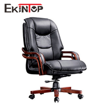 Superior luxury heated boss massage wooden legs executive armrests deck chair for rest