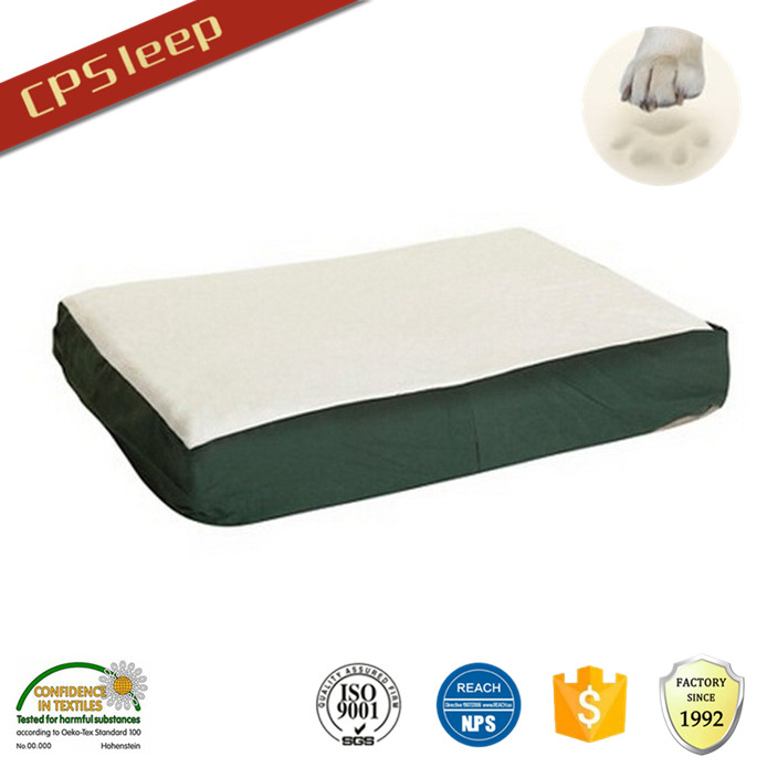 Colorful Factory Beautiful Flat Memory Foam OEM large dog beds orthopedic