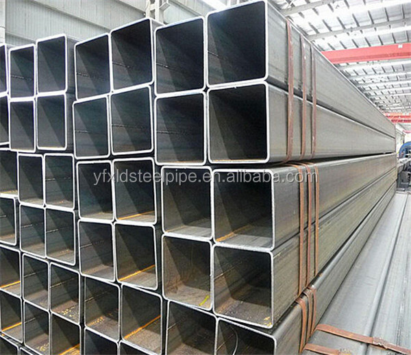 ASTM A106/A53 seamless schedule 80 black ms steel pipe