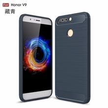Top selling 1.5mm thickness cover carbon fiber brushed TPU case for Moto E4 plus
