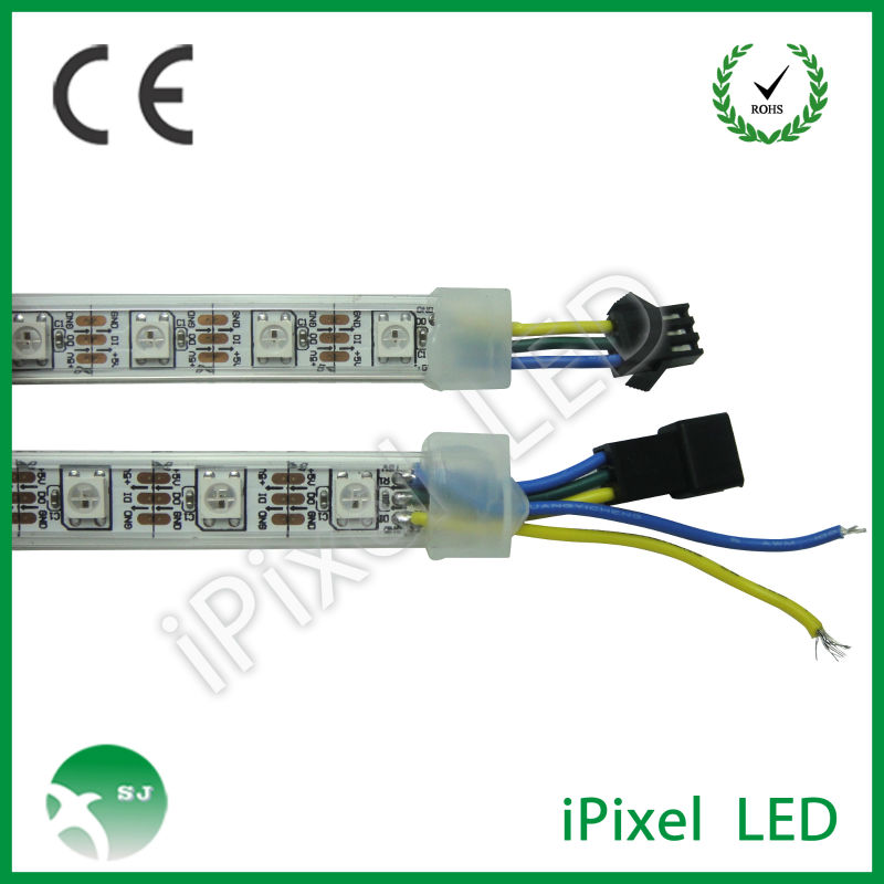 ws2812b addressable dmx rgb led rope light