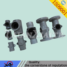 Precision casting steel connecting oil&gas pipe fitting valve body valve parts
