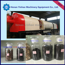 custom flexible top quality International Standard bamboo waste carbonization machine/sludge continuous furnace