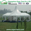 Branded updated quadrangle marquee tent