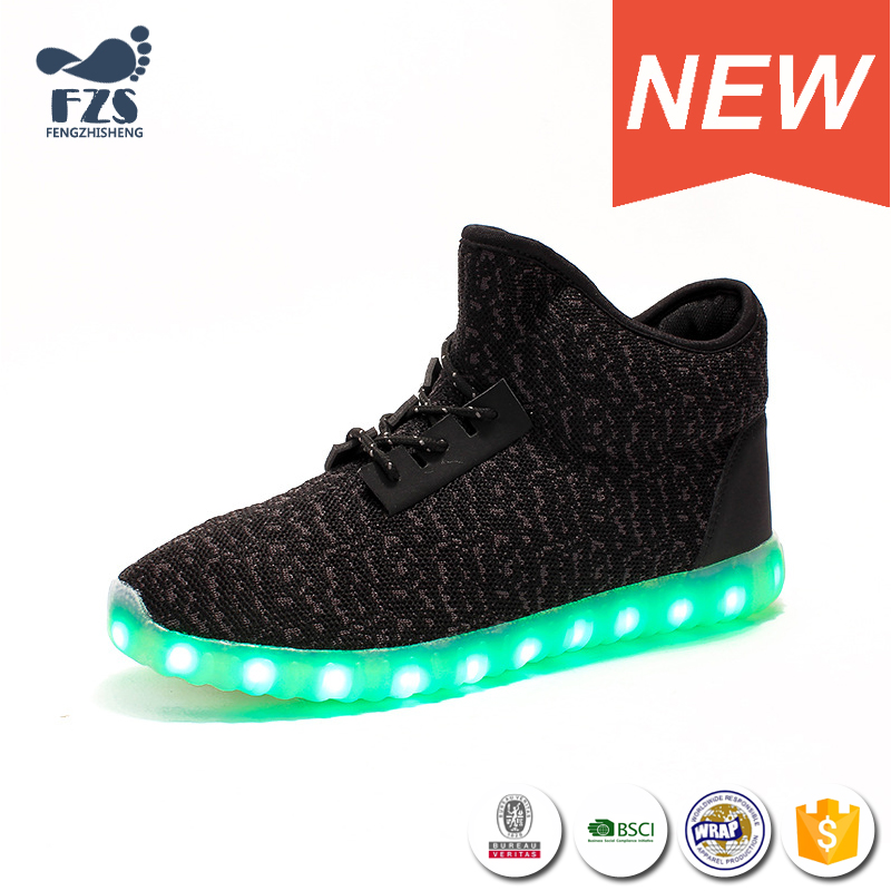 HFJH150 High top scarpe led per adulti