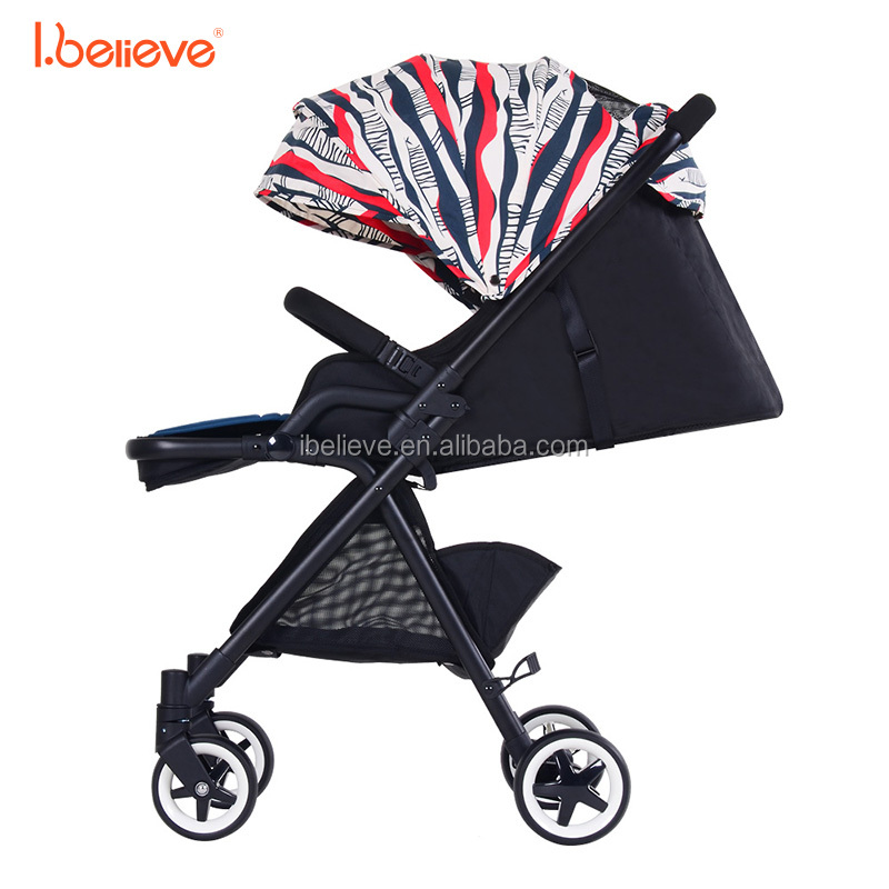 Compact baby stroller with aluminum alloy frame and bottle holder from ningbo i believe factory stroller baby