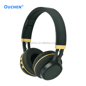 New stylish wireless blue tooth headphone with TF card and FM radio support