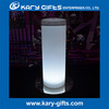 Nichtclub Bar LED Table Top Glass Cocktail Table