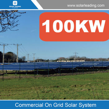 Turnkey Service 100kw Complete Solar System On Grid