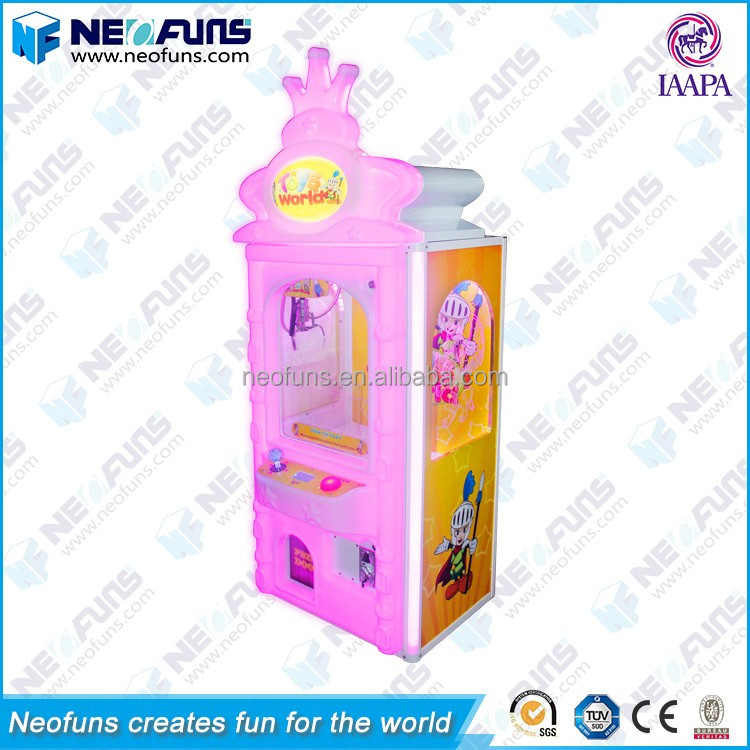 China Manufacturer Colorful Lighting Kids Gift Prize Craen Claw Machine