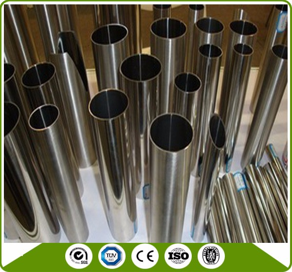 304 mirror polishing copper color stainless steel pipe