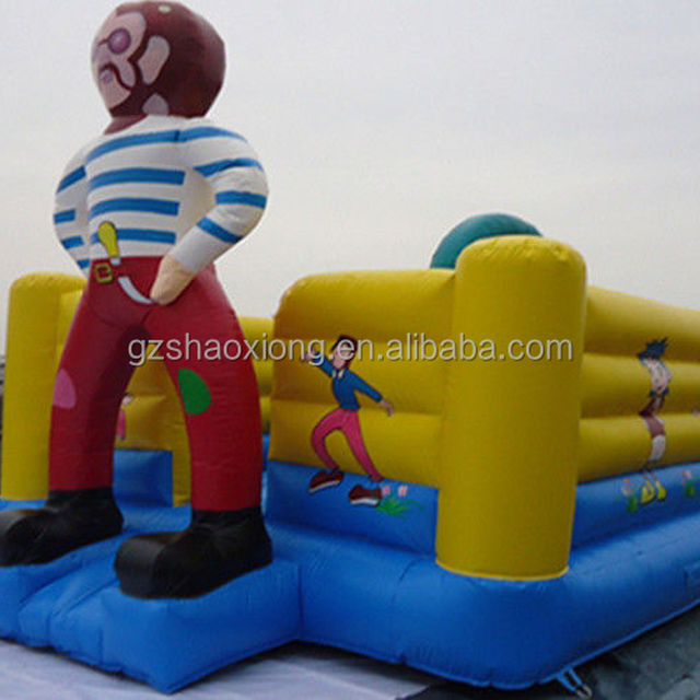 Indoor Mini Inflatable Bounce Houses For Kids , Inflatable Game Rentals
