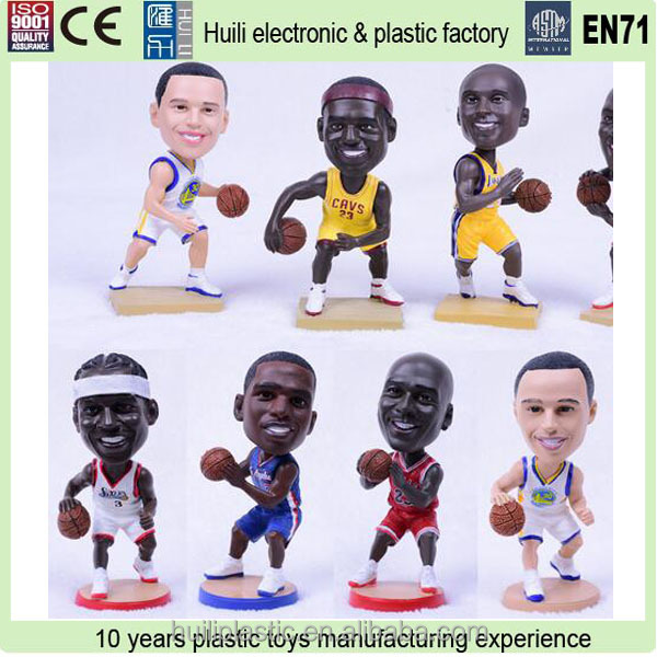 basketball player action figure for sale, oem soccer player action figure, promotional 3d pvc figure toy