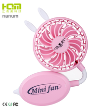 2018 New design Unique Design Foldable air cooling battery operated usb mini handheld portable rechargeable stand fan