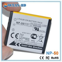 Camera batteries wholesale alibaba for Fujifilm NP-50 3.6v lithium battery