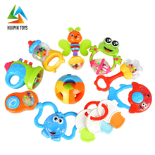 promoting finger development handbell 3101 toy baby rattle for sale