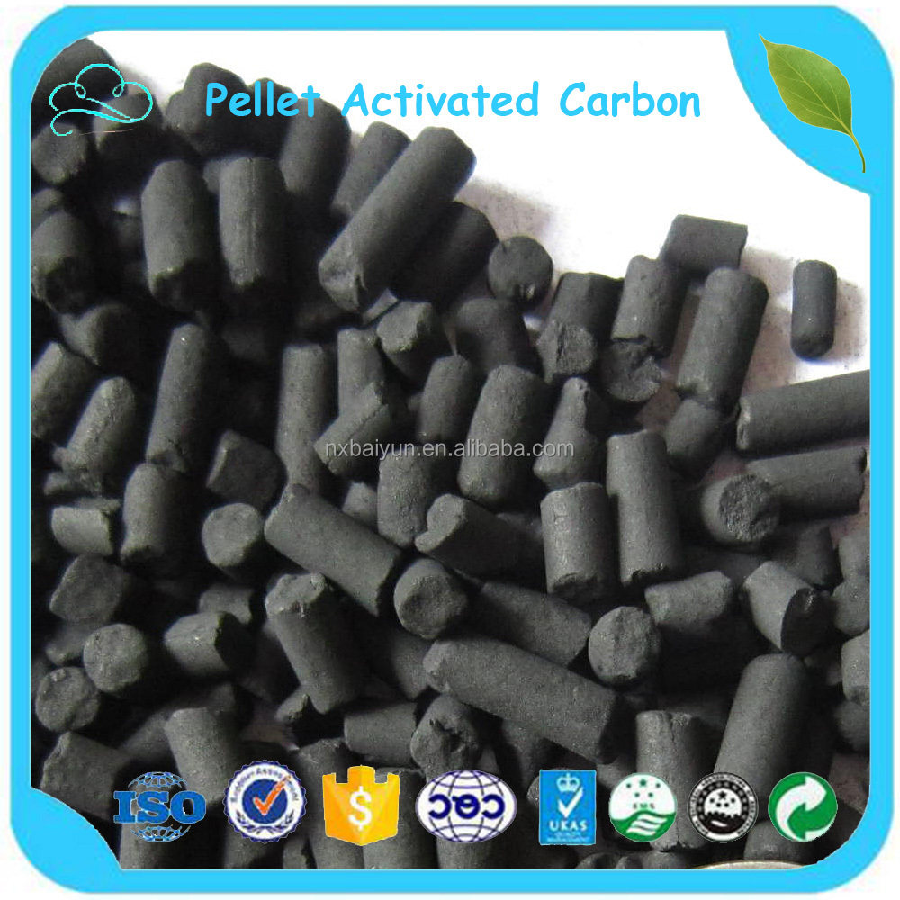 3.0mm Coal Columnar Activated Carbon For Sewage Treatment