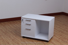 Modern style file cabinet with 3drawer sliding
