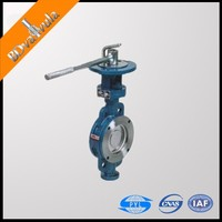 wafer type butterfly valve double eccentric butterfly valve